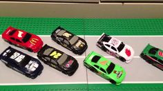 "NASCAR BASHERS funny review Toys Diecast ""STOP MOTION"" animation ""Grim's..."