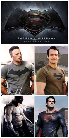 Batman (Ben Affleck) and Man of Steel (Henry Cavill) movie 2016 -Dawn of Justice