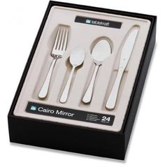 Picture of 32 Piece Cairo Satin Cutlery Set