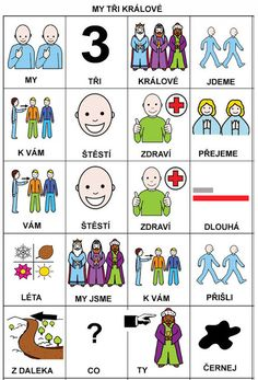 Pro Štípu: My tri kralove Preschool, Language, Education, Comics, Learning, Logos, Children, Advent, Music