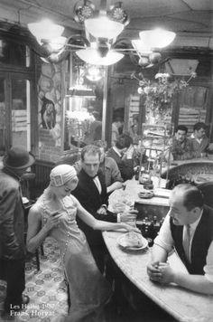 Frank Horvat Un grand monsieur d'une grande élégance  - Les halles -1957