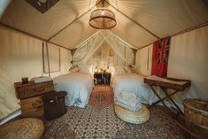 Luxury tents for sale in 6 different sizes and 5 models. Luxury tent is also commonly referred to as a glamping tent. Glam Camping, Camping Set Up, Luxury Camping, Camping Ideas, Camping Storage, Camping Essentials, Tent Weights, Tent Stove, California Beach Camping