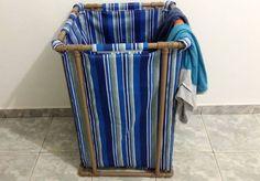 Confira o nosso passo a passo para fazer um cesto de roupa confeccionado com tubos de PVC para fazer encanamentos. É um material muito resistente e versátil: