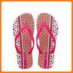 969601a83573 Hotmarzz Women Flip Flops Beach Slippers 2017 Geometric Print Summer  Slippers Flat Slides Slip On Sandals.