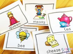 Long Vowel Team Word Work. Need reading centers work, independent reading, or work work activities? Find perfect reading resources such as long vowel teams word work, short vowel word work, comprehension task cards, and more to engage your primary readers. Plus, FREE sight word flash cards and FREE long vowel anchor charts!
