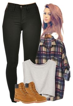 """""""Class"""" by crystal-inman on Polyvore featuring PEPER and Timberland"""