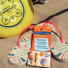 Who's ready for some beach frisbee? Beach Bag Essentials, Sunscreen, Cancer