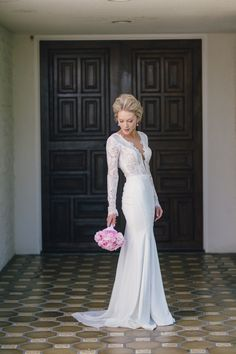 Glamourous Palm Springs Wedding at The Parker Palm Springs - http://www.stylemepretty.com/california-weddings/2014/09/16/glamourous-palm-springs-wedding-at-the-parker-palm-springs/
