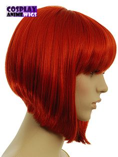 Haha, maybe I need this wig! My hair certainly isn't thick enough to do this on my own, but I love the cut (and the color, really).