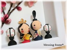 Quilling Dolls, Paper Quilling Patterns, 3d Quilling, Quilling Tutorial, Quilling Cards, Crafts To Do, Arts And Crafts, Hina Matsuri, Hina Dolls