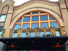 Sunshine Theater, Lower East Side, NYC