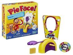 Pie Face Hilarious Splat Throwing Family Fun Board Game Party Christmas Gift New #PieFaceHilariousSplat