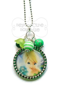 TINKERBELL Tinker Bell NECKLACE /// Peter by BeyondCuteBoutique