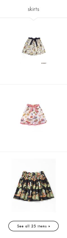 """""""skirts"""" by bjdoll ❤ liked on Polyvore featuring otome, skirts, disney, jane marple, lolita, patterned skater skirt, circle skirts, flared skirts, pattern circle skirt and print skirt"""