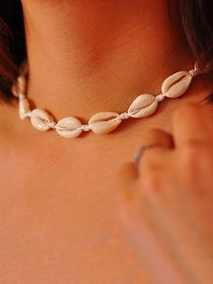 """20/"""" Gold Chain NEW! SEA SHELL Necklace Bright Gold Trim TRIANGLE SLICED Shell"""