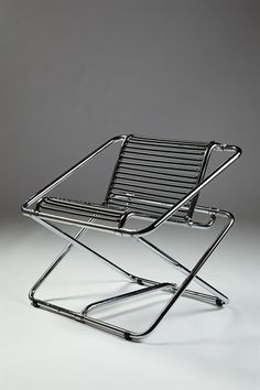 Rocking chair, designed by Ron Arad for One Off, England. 1980's.