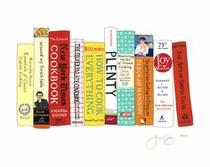 Ideal Bookshelf Essential Cookbooks Needed