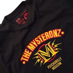 The Mysteronz T-shirt. Psychobilly Mosocw/Barcelona