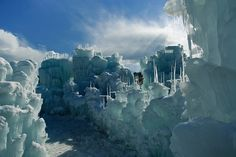 Ice Castle    A late afternoon at the Ice Castles in Silverthorne Colorado. PHOTO: Robin Wilson