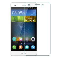 Teléfono móvil de la alta calidad de cristal templado para huawei p8 lite protector de pantalla película protectora de cristal accesorios envío gratis