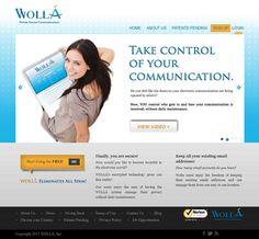 WOLLÁ #web #website #webdesign
