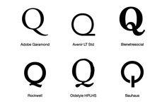 alphabet letter ...Q Letter Design