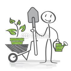 Gärtner, Gartenarbeit