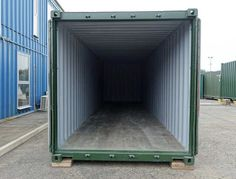 Shipping containers for sale at great prices, deals available on shipping containers of all sizes, new and used shipping containers for sale! 40ft Shipping Container, 40ft Container, Shipping Containers For Sale, Shipping Container Home Designs, Container Cabin, Cargo Container, Container House Design, Container Conversions, Ral Colours