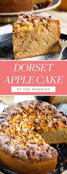 Dorset Apple Cake. 21 Fancy British Desserts You Can Totally Pull Off at Home #purewow #food #royal family #dessert #recipe #easy #britishdesserts #applecakes British Desserts, British Dishes, Cake Recipes Uk, Apple Recipes, Baking Recipes, English Dessert Recipes, English Recipes, Baking Ideas, Köstliche Desserts