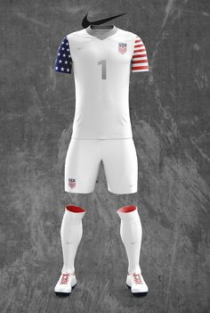 Concept US Men's National Team Nike Soccer Kit Designs on Behance Team Usa Soccer Jersey, Nike Soccer Jerseys, Football Usa, Soccer Uniforms, Football Kits, Soccer Drills For Kids, Soccer Kits, Camisa Nike, Sports Jersey Design