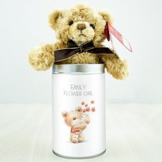 Heritage Wedding Male Personalised Teddy in a Tin Engraved Wedding Gifts, Wedding Gifts For Bride And Groom, Personalized Wedding Gifts, Gifts For Boys, Boy Gifts, Flower Girl Gifts, Page Boy, Groom Style, Wedding Events
