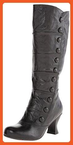 Miz Mooz Women's Amelia WC Equestrian Boot, Black, 8 M US - Boots for women (*Amazon Partner-Link)