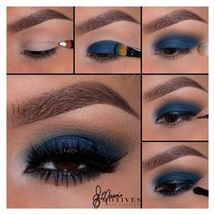 40 Eye Makeup Looks for Brown Eyes via Polyvore featuring beauty products, makeup and eye makeup