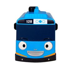 THE LITTLE BUS TAYO & FRIENDS Diecast Carrier Mini Car Storage Blue Bus Kids Toy