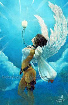 Angel Flight new by FalyneVarger on DeviantArt http://falynevarger.deviantart.com/art/Angel-Flight-new-125640812