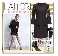 """LATTORI dress"" by shambala-379 ❤ liked on Polyvore featuring Chanel, Burberry, Lattori, Alexander McQueen, Bling Jewelry and lattori"