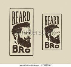 vintage hand drawn logo of barber shop with hair style, beard and mustache