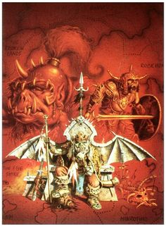 The Orcs of Thar - Clyde Caldwell