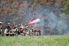 Battle of Pea Ridge Confederates, via Flickr.