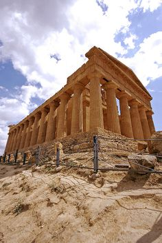 Temple of Concord - Agrigento, Sicily, Italy