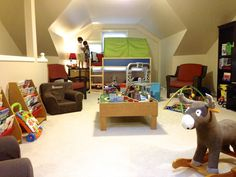 Our boys shared bedroom/playroom! #thepiggytoes