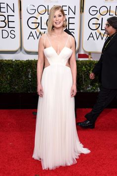 Rosamund Pike Red-Carpet Looks From the 2015 Golden Globes -- Vulture