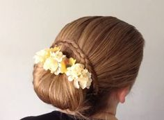 Easter Basket Full of Flowers by Pretty Hairdos