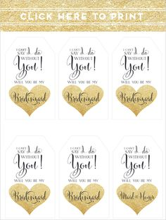 free printable tags @weddingchicks