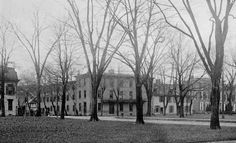 1898 The Capitol Hotel on the Green in Dover, Delaware.  Delaware Public Archives. www.archives.delaware.gov