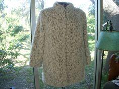 Faux Fur Jacket Vintage 70s Snow Leopard by yourwildestdreams, $45.00
