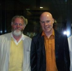 Paddy with Thomas Dolby. Two geniuses.