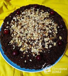 """Торт """"Пьяная вишня"""" фото к рецепту 19 Acai Bowl, Breakfast, Recipes, Food, Meal, Eten, Recipies, Meals, Morning Breakfast"""
