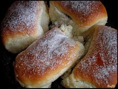 You searched for kysnuté - NajRecept. Slovak Recipes, Old Recipes, Hot Dog Buns, Scones, Nutella, Biscuits, Sweets, Bread, Baking