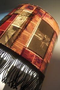 photo negative lamp